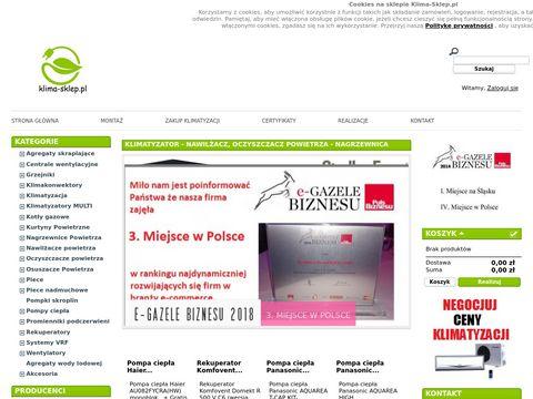 Klimatyzatory - klima-sklep.pl