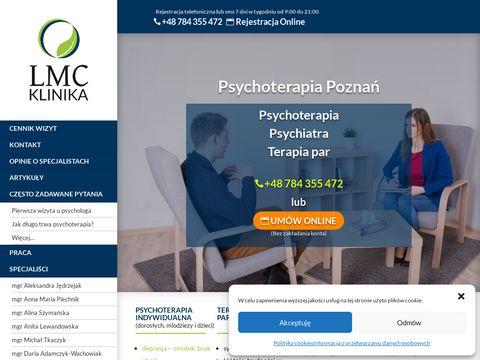 Klinika LMC - Pomoc psychologiczna