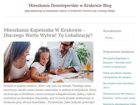 Blog Mieszkaniakrakow.info