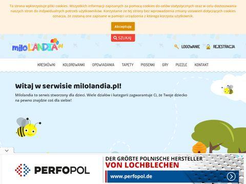 Gry dla dzieci - milolandia.pl
