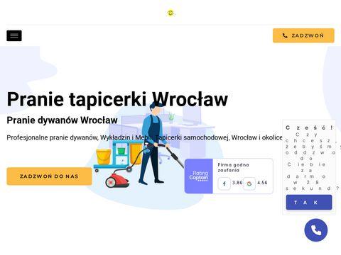 Pranie tapicerki samochodowej - Wrocław