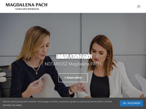 Kancelaria Notarialna Krak贸w, Notariusz Krak贸w - Notariusze Pach amp; Golec-Sionek