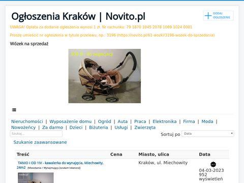 Novito.pl - darmowe ogłoszenia