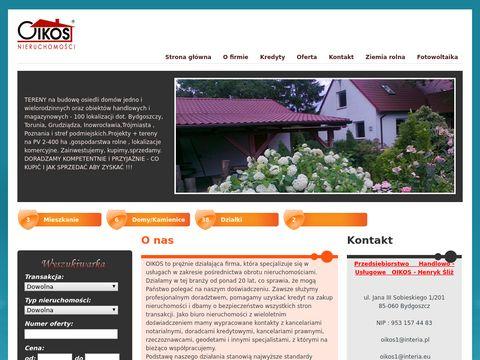 Dzia艂ki inwestycyjne Bydgoszcz
