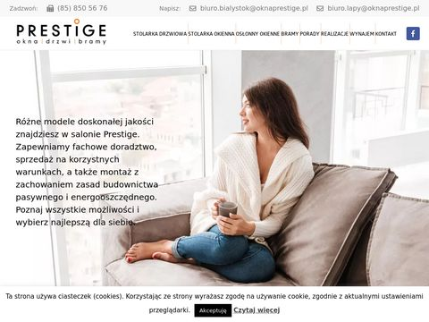 Prestige - Okna i drzwi Bia艂ystok