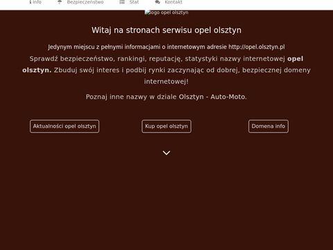 Opel Olsztyn - kontakt