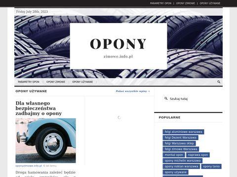 Oponyzimowe.info.pl