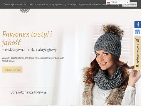 Www.pawonex.pl Produkcja czapek zimowych
