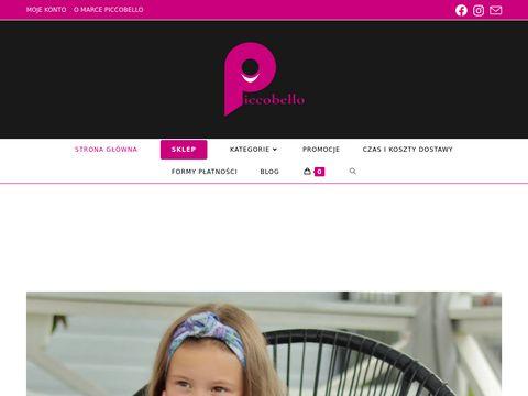 Piccobello - moda dla najmłodszych i nie tylko