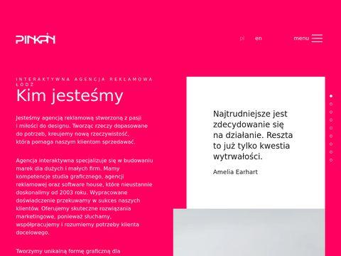 Www.pinkpin.pl - Projektowanie logo