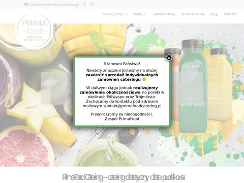PrimaFood catering dietetyczny