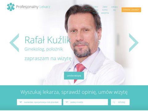 Znany lekarz - profesjonalnylekarz.pl