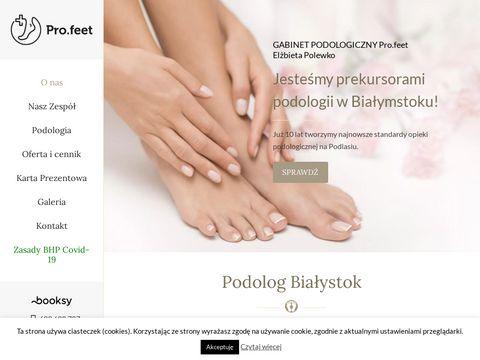 Podolog Białystok - Gabinet Podologiczny Profil