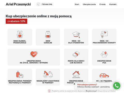 Ariel Przesmycki-biuro ubezpieczeniowe siedlce