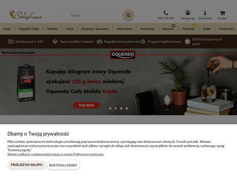 SklepKawa.pl: pyszna kawa u Ciebie w domu!
