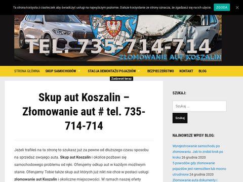 Skup aut Koszalin - ZÅ'omowanie aut Koszalin