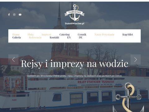 鉂わ笍 Rejsy i imprezy na statkach 鉂わ笍 StatekWroclaw.pl