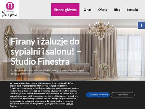 STUDIO FINESTRA zasłony i firan warszawa