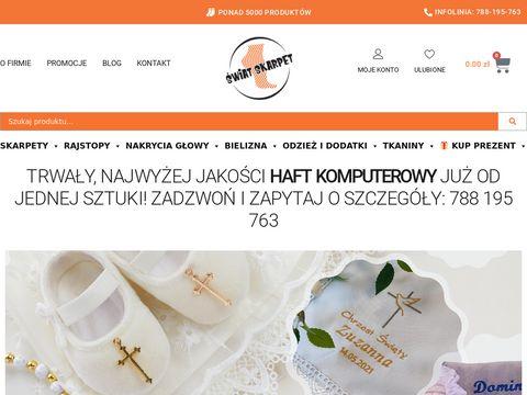 Skarpety - swiatskarpet.pl