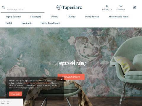 Tapeciarz.pl - sklep internetowy z tapetami