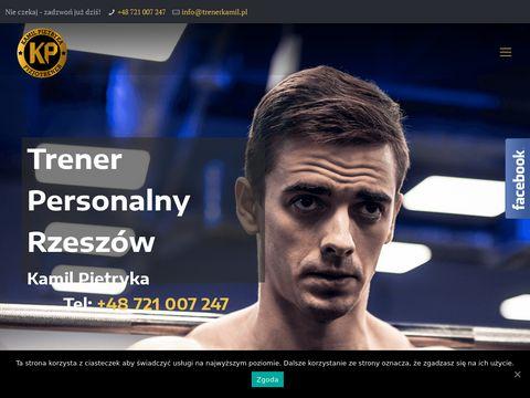 Trener Personalny Rzesz贸w   Trening Personalny - Kamil Pietryka