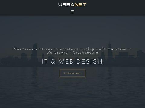 Urbanet - strony internetowe Ciechan贸w i us艂ugi informatyczne Warszawa