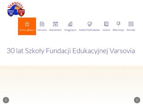 Prywatna szkoła podstawowa Fundacji Varsovia