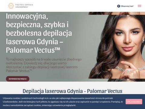 Depilacja laserowa Gdynia - Laser Palomar Vectus鈩�