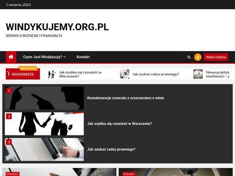 Windykujemy.org.pl - dochodzenie roszczeń