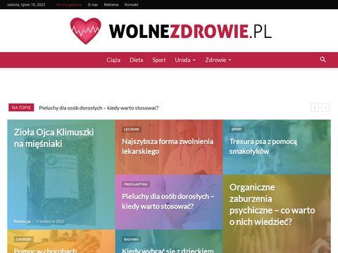 WolneZdrowie.PL - Porady zdrowotne i dietetyczne