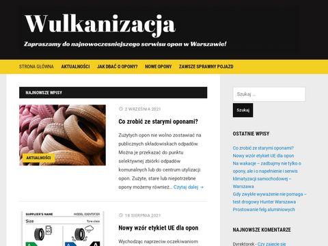 Wulkanizacjawarszawa.com.pl