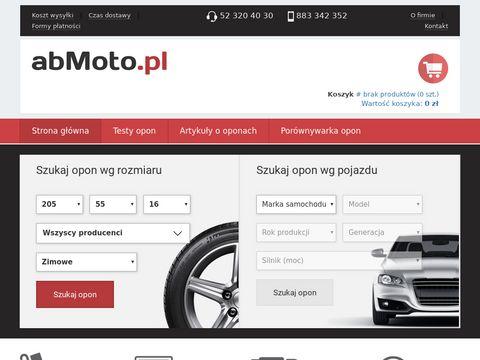 Centrum sprzedaży opon – abMoto.pl