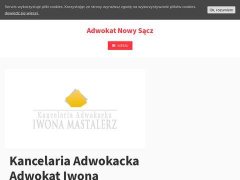 Kancelaria adwokacka Nowy S膮cz