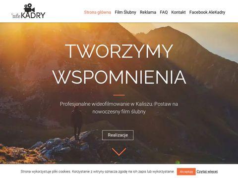 Profesjonalne wideofilmowanie - AleKadry