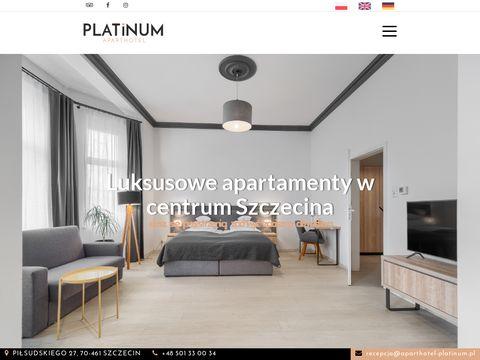 Aparthotel Platinum - apartamenty Szczecin