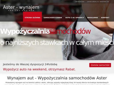 Wynajem samochod贸w Lublin