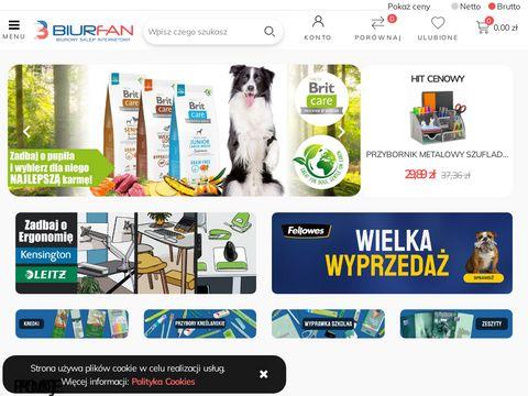 Hurtownia artyku艂贸w biurowych i papierniczych | Biurfan.pl