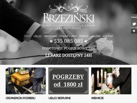 Pogrzeby Szczecin Brzeziński