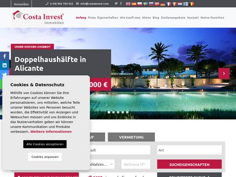 Inwestycje w Hiszpanii