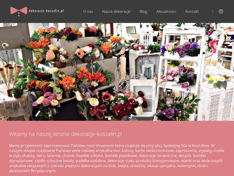 Http://www.dekoracje-koszalin.pl