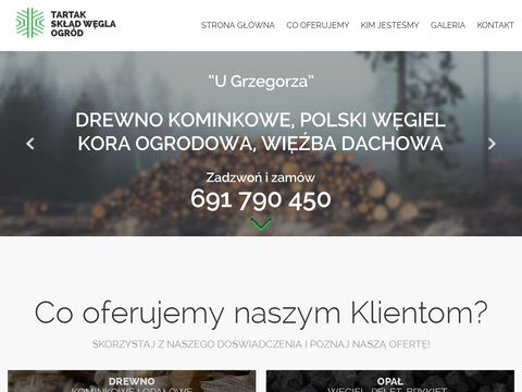 Skład drewna Wrocław - Drewno, Węgiel, Ekogroszek, Pellet