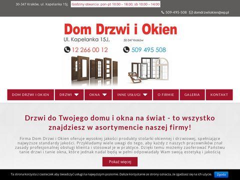 Salon drzwi i okien w Krakowie - drzwi-okna.krakow.pl