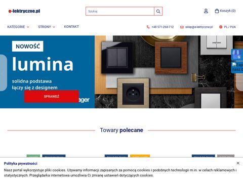 E-lektryczne.pl wyłaczniki instaacyjne