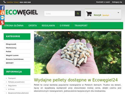 EcoWegiel24 - dostawa na terenie całego kraju