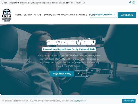 Nauka Jazdy Gda艅sk - OSK EFEKT