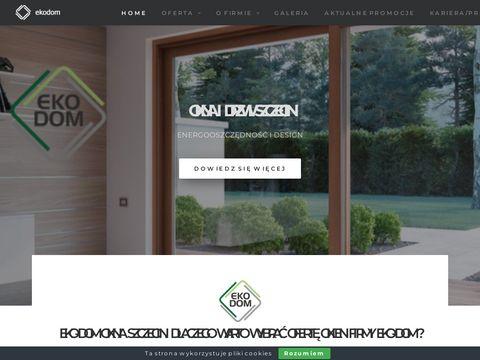 Okna energooszczÄ™dne - www.eko-dom.szczecin.pl