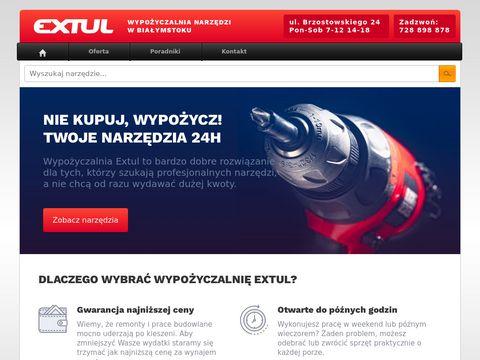 Extul.pl - Wypo偶yczalnia narz臋dzi Bia艂ystok