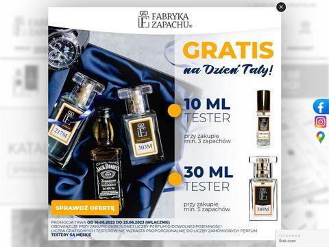 Fabrykazapachu.pl akcesoria perfumeryjne