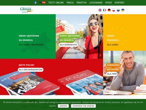 Szkoła Językowa GLOSSA