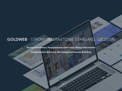 GOLDWEB Strony internetowe Stargard, Szczecin
